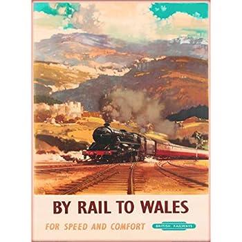 Brig O/' Doon Scotland Great Britain Vintage Railways Travel Art Poster Print
