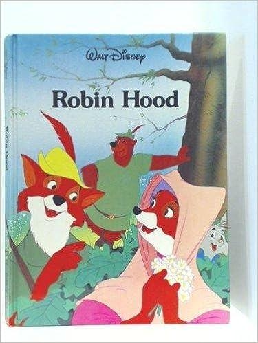 Robin Hood Walt Disney Company 9780831774080 Amazon Com Books