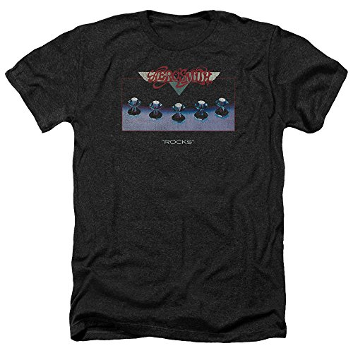 Aerosmith Heather Rocks T Black Homme shirt Pour fpOBwqgxp