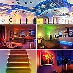 LED Strip Lights, 16.4ft RGB LED Light Strip 5050 LED Tape Lights, Color Changing LED Rope Lights with Remote for Home… 14