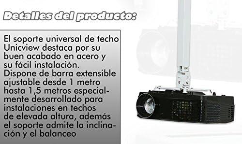 Soporte de Techo para proyector Extensible Desde 1 hasta 1,80 ...