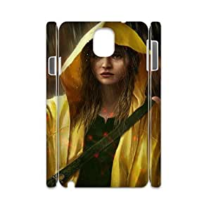 Samsung Galaxy Note 3 Case 3D, Crying Girl In The Rain Case for Samsung Galaxy Note 3 white lmn317562435