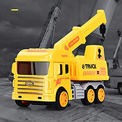 Amazon com: FIged Kids Toys, Mini Pull Back Engineering Car