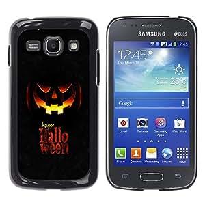 YiPhone /// Prima de resorte delgada de la cubierta del caso de Shell Armor - Happy Halloween - Samsung Galaxy Ace 3 GT-S7270 GT-S7275 GT-S7272