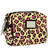 Betseyville Cheetah Time Small Cosmetic-Yellow-One Size, Bags Central