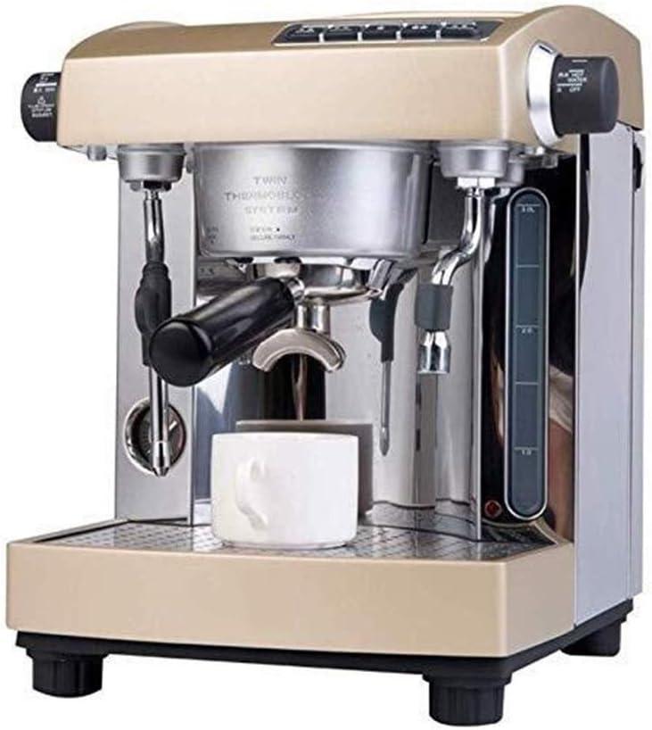 Cafetera Comercial Inicio Máquina de café 15 Bar Bomba de Doble Sistema 3L Tanque de Agua de Gran Capacidad: Amazon.es: Hogar