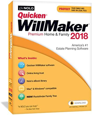 Quicken WillMaker Premium Home Family product image
