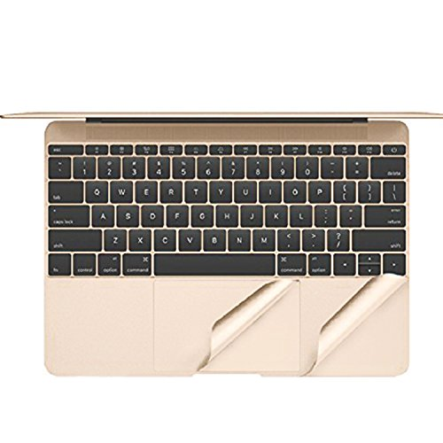 TOP CASE Palm Rest Cover Skin with Trackpad Protector Compatible with Apple MacBook 12-Inch 12