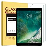 [2 Pack] iPad Pro 12.9 Screen Protector, SPARIN Multi-Touch Compatible/Bubble-Free/Anti-Scratch Tempered Glass Screen Protector for 12.9-Inch iPad Pro (2015, 2017 Release)