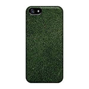 Ultra Slim Fit Hard Jeffrehing Case Cover Specially Made For Iphone 5/5s- Grass Background