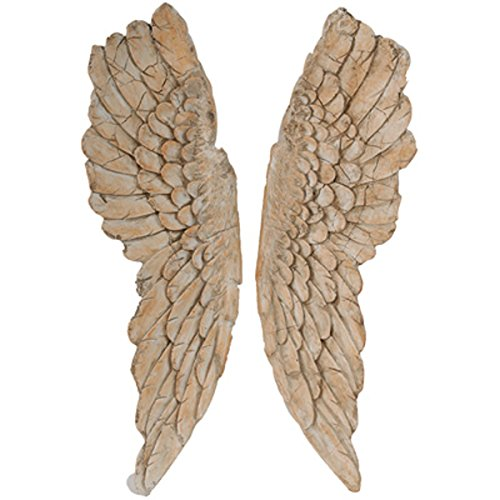 A&B Home Angel Wings, Set of 2, 11.5