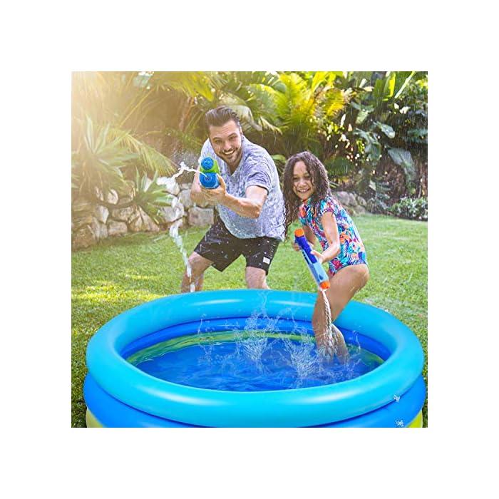 51vZv4JppwL 🌴【Piscina de verano para remar】 De color azul verdoso, refrescante y simple, ¡esta piscina te puede recordar instantáneamente el mar, el agua, los árboles, el color del verano! 🌴【Diversión segura en el agua】 No es necesario salir al exterior para refrescarse, solo disfrute del agua fresca en la piscina inflable en la terraza o en el jardín. Nuestra piscina garantiza que los niños jueguen en el agua sin riesgo. 🌴【Más resistente】 Material de PVC duradero adoptado, esta piscina para niños es más gruesa que otras, puede permanecer más tiempo en verano. Parche incluido para daños accidentales.