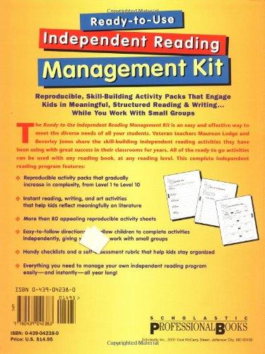 Amazon.com: Ready-to-Use Independent Reading Management Kit ...