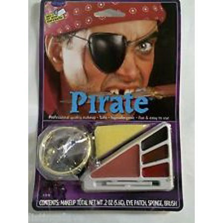 Pirate Halloween Makeup Kit ()