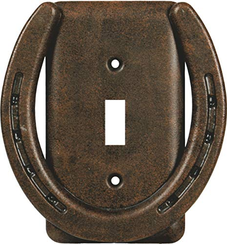 River's Edge Products Horseshoe Single Switch Cover