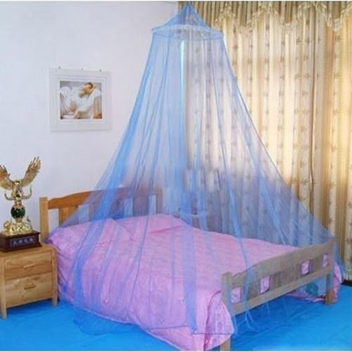UNAKIM--Elegant Lace Bed Canopy Netting Curtain Fly Midges Insect Cot Mosquito ()