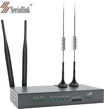 Amazon.com: Industrial 4 G LTE Router Tarjeta SIM WIFI ...