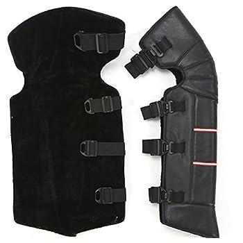 "Amazon.com: One Pair New 23"" Black Leatherette Windproof"