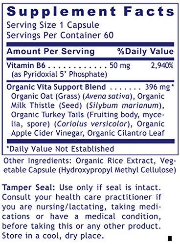 Premier B6 Ultra 60 Cap/Bottle by Premier Research Biogenics Labs (3)