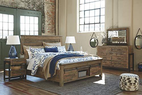 Bedroom Ashley Furniture Signature Design – Quinden Dresser – 7 Drawer – Dark Brown farmhouse dressers
