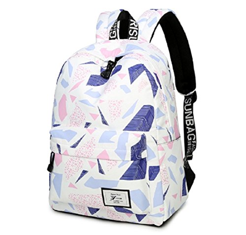 Lightweight Beige Bag splash Travel Backpack Student Not Women Style3 Bags water Backpack School College Bag Canvas Girls Backpack and for School fxqwYY