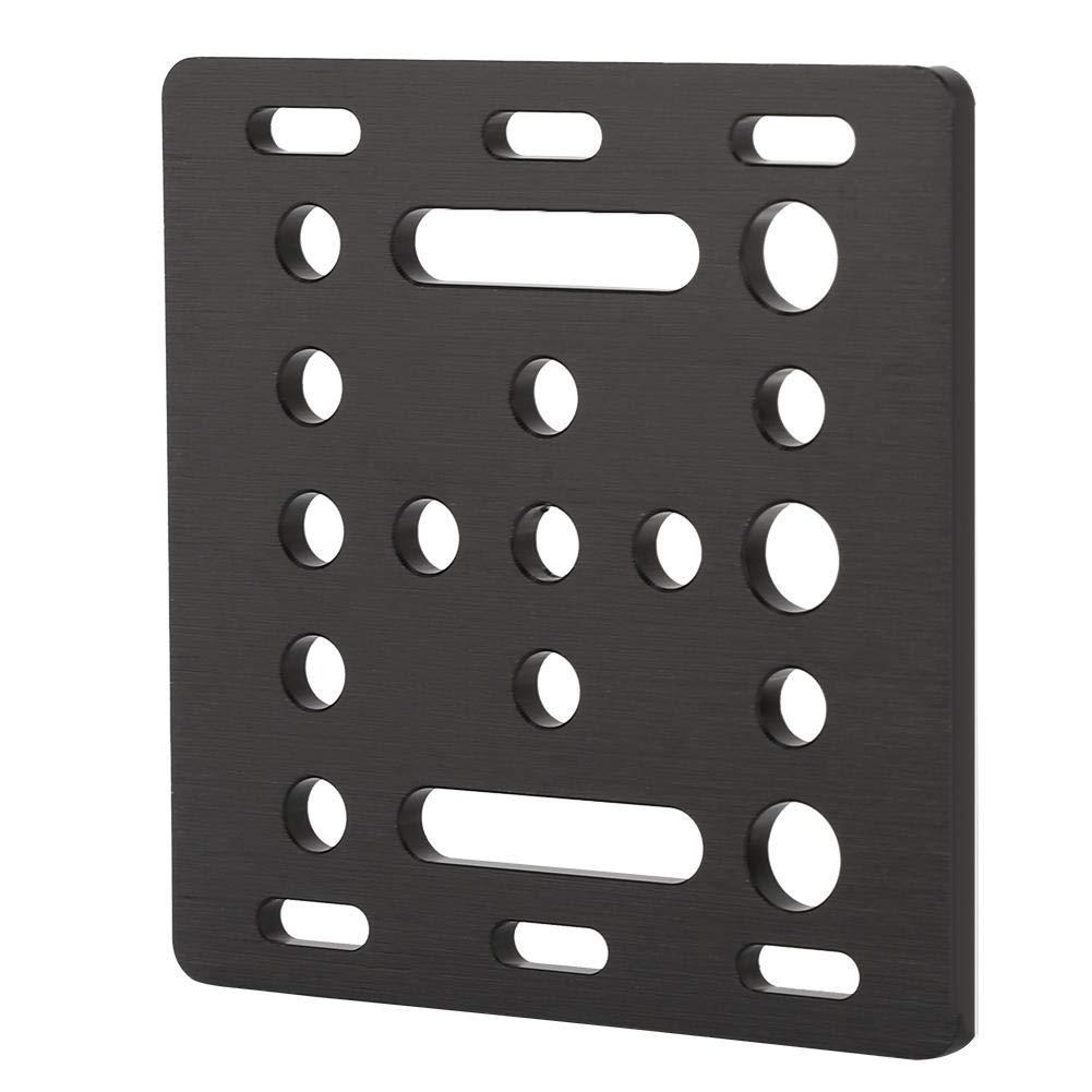 Negro Mavis Laven Placa de Placa de construcci/ón para la Placa de construcci/ón V-Slot de 20 mm Piezas y Accesorios de Impresora 3D