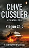 Front cover for the book Plague Ship by Clive Cussler