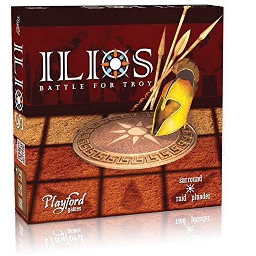 ILIOS Battle for Troy - Friendly And Quick Board Game For 2-4 Players Ages 8 and up. Fun for both parents and children to play as a family or with your own friends.