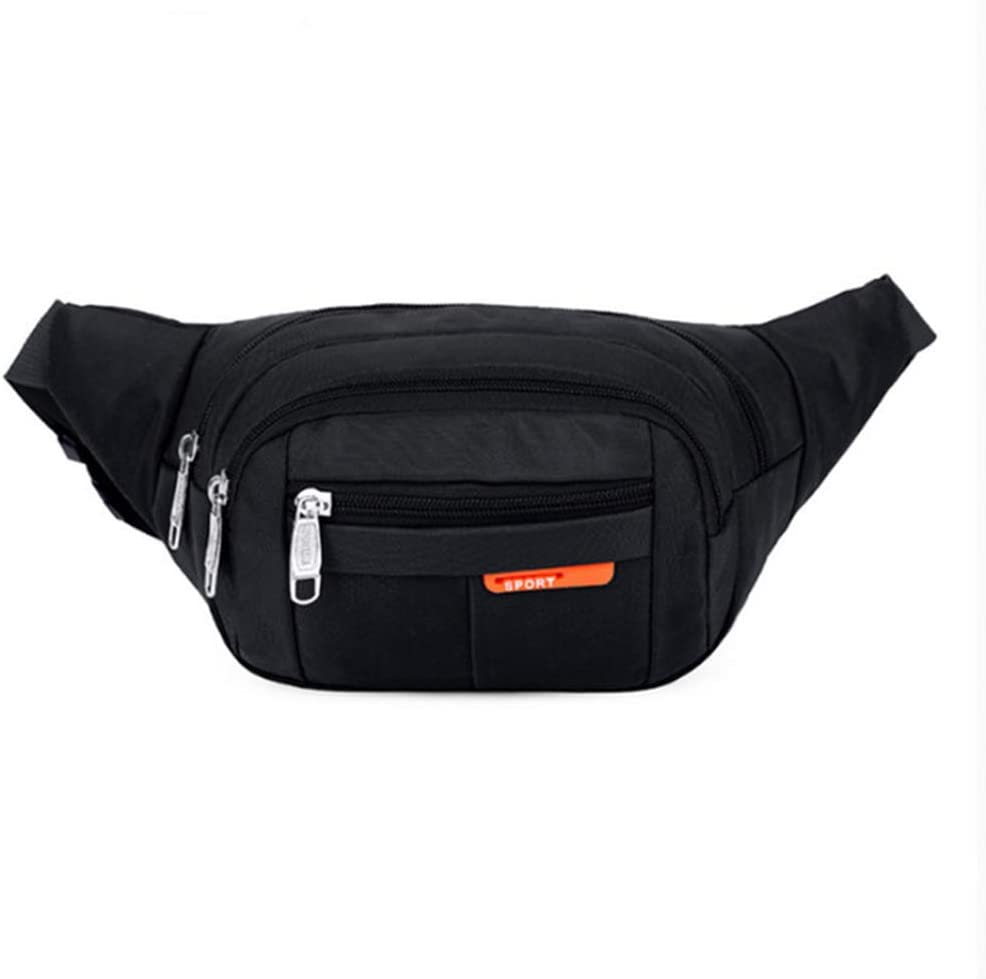 Puretinn Waist Pack Fanny Pack For Men Women Waist Shoulder Bum Bag With Adjustable Strap For Outdoors Casual Running Hiking Cycling Sports Outdoors