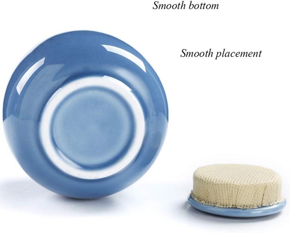 Color : #1 7,3 Centimetri 7cm Mini Urna Adulto911 CHIHEN-Ash box Adulto Urne della Cremazione Burial Urns At Home Commemorazione Ceramica Urna Acciaio Blue Classic Forte Tenuta 7 7