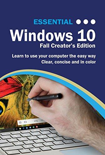 Essential Windows 10 Fall Creator's eTextbook Edition (English Edition)