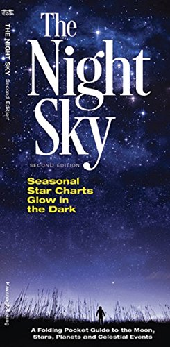 The Night Sky: A Folding Pocket Guide to the Moon, Stars, Planets & Celestial Events (A Pocket Naturalist Guide) (Waterford System)
