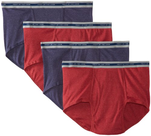 n's  Easy Care Asst Fashion Brief (Big), Assorted, XX-Large(Pack of 4) ()
