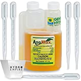 General Hydroponics AzaMax 4oz Spray Spider Mite Killer Organic Insecticide with 5 Pipettes and 4 oz Measuring Cup Nematode Control for Plants Garden Indoor Pesticide Spider Mites Repellent Bundle