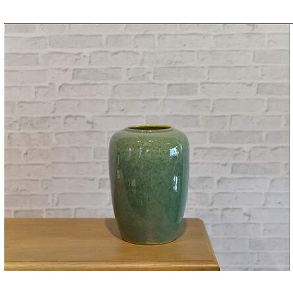 モダンなミニマリストエメラルドグリーンセラミックドライフラワー花瓶クリエイティブ装飾 SHWSM (サイズ さいず : 23cm*30cm) B07SCYM2NR  23cm*30cm
