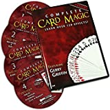 Magic DVD Set - Complete Card Magic 7 Volume Set on 4 DVDs - Teaches Over 120 Card Trick Effects
