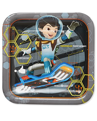 Tomorrowland Costume Ideas (American Greetings Miles from Tomorrowland Square Plate (8 Count), 9