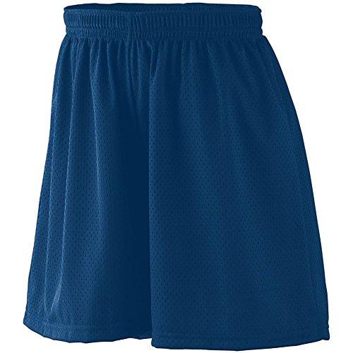 Augusta Mesh Shorts - Augusta Sportswear Augusta Ladies Tricot Mesh Short, Navy, X-Large