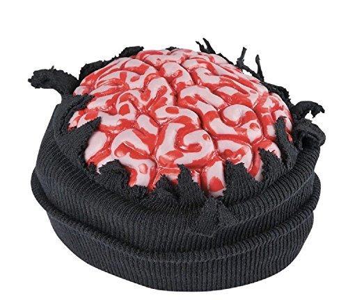 Halloween Costume Bloody Brain Stocking Cap