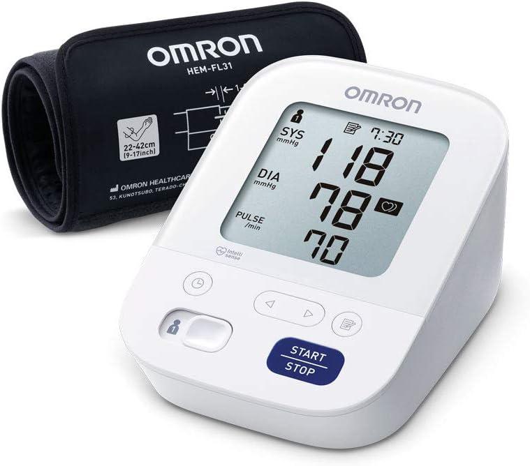 OMRON Healthcare X3 Comfort Monitor de Tensión Arterial, Con Manguito Inteligente
