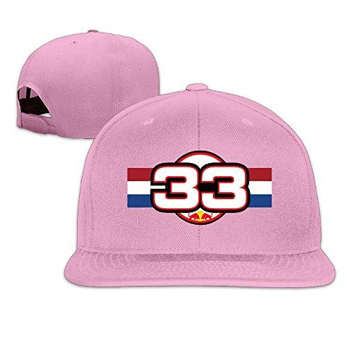 Grand Prix Soft Shell (Solid Adult Max Verstappen Number 33-10 Flat Bill Baseball Cap)