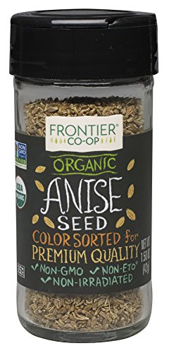 Frontier Natural Products Anise Seed, Og, Whole, 1.50 Ounce