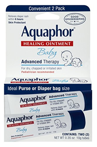 Aquaphor Baby Healing Ointment Advanced Therapy 2 tubes 0.35 oz(Packs of 3) by Aquaphor