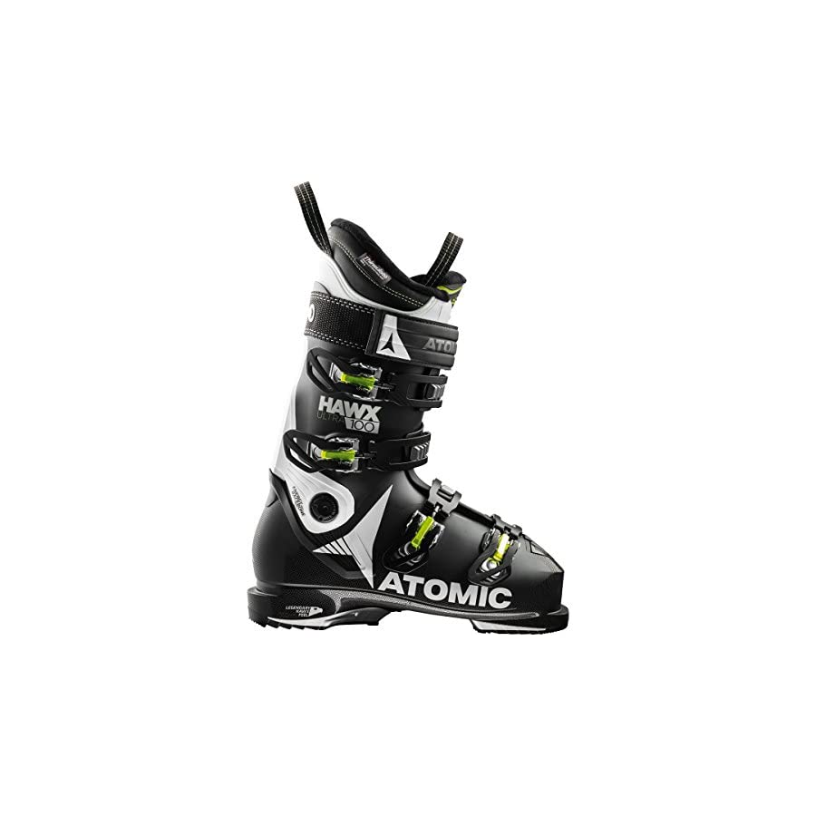 Atomic Hawx Ultra 100 Ski Boots Black/White 24/24.5