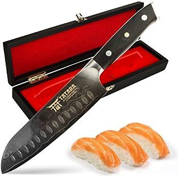 Amazon Com Zelite Infinity Santoku Knife 7 Inch Alpha