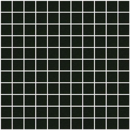 Susan Jablon Mosaics - 1 Inch Black Mirrored Glass Tile