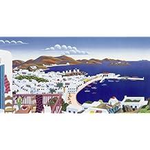 Thomas Mcknight - Mykonos Panorama 50 x 26