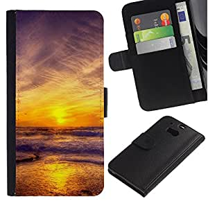 OMEGA Case / HTC One M8 / REST - MATTHEW 11:28 / Cuero PU Delgado caso Billetera cubierta Shell Armor Funda Case Cover Wallet Credit Card