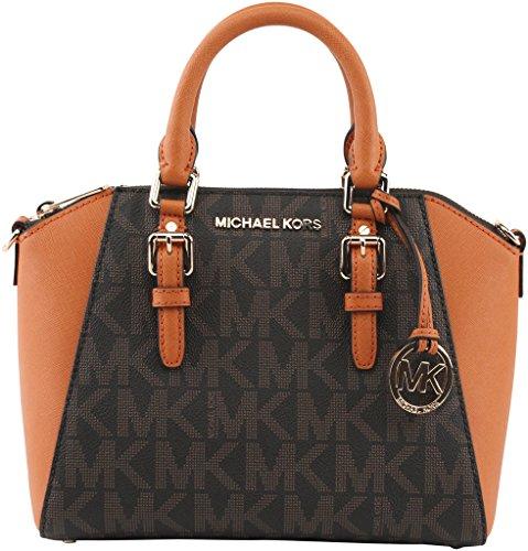 Michael-Kors-Womens-Ciara-Medium-Messenger-Bag-Brown-Cherry