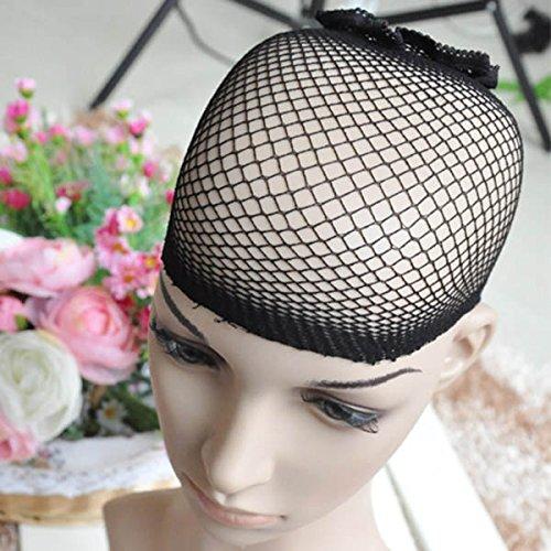 3/* /él/égant unisexe NEUF Homme Femme r/ésille noire Deluxe Fancy Dress Cheveux Perruque